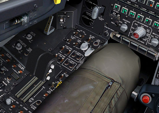 The LOMAC A-10 throttle bears a striking resemblance to the G940 throttle.