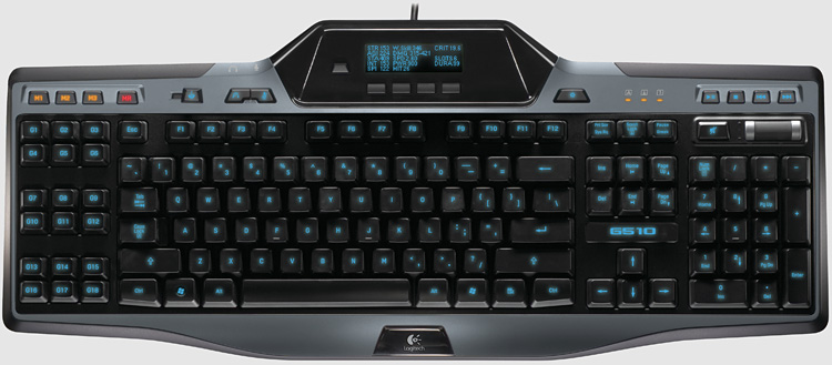 Logitech G510 Keyboard Overview
