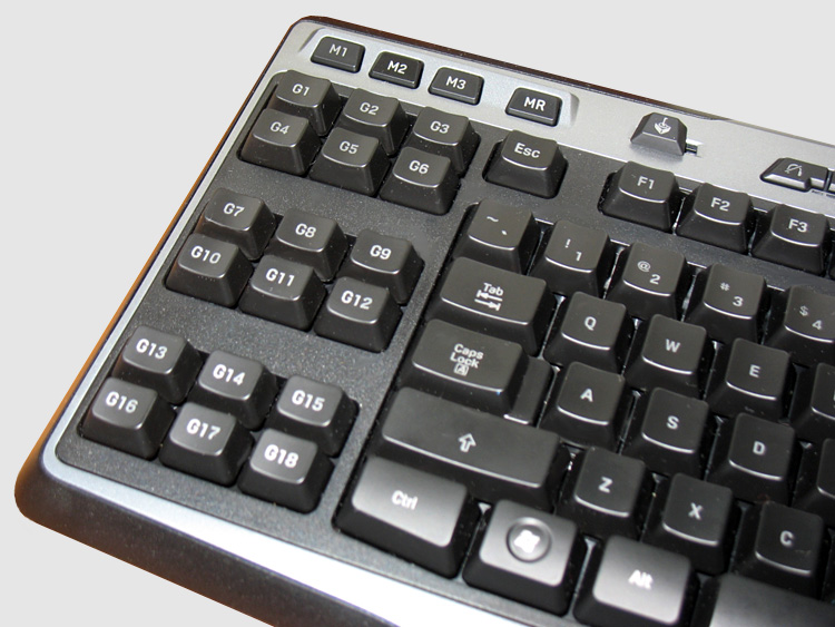 Logitech G510 Keyboard - The G keys