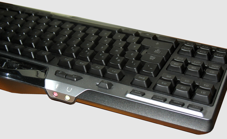 Logitech G510 Keyboard - Back