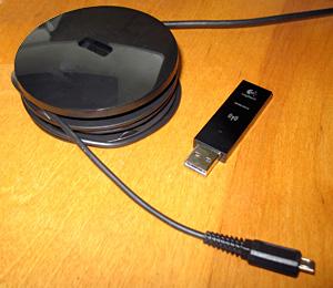 Logitech Wireless Gaming Headset G930 - dongle