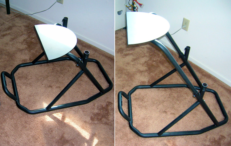 diy racing wheel stand pvc diy do it your self