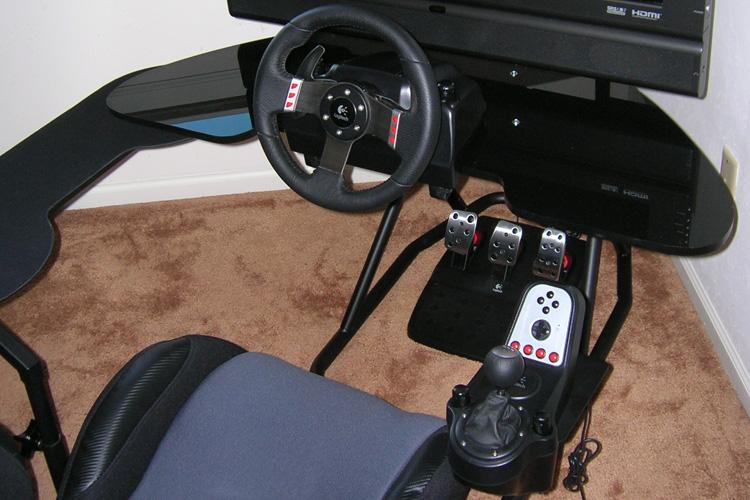 Obutto oZone Gaming Cockpit - sim racing