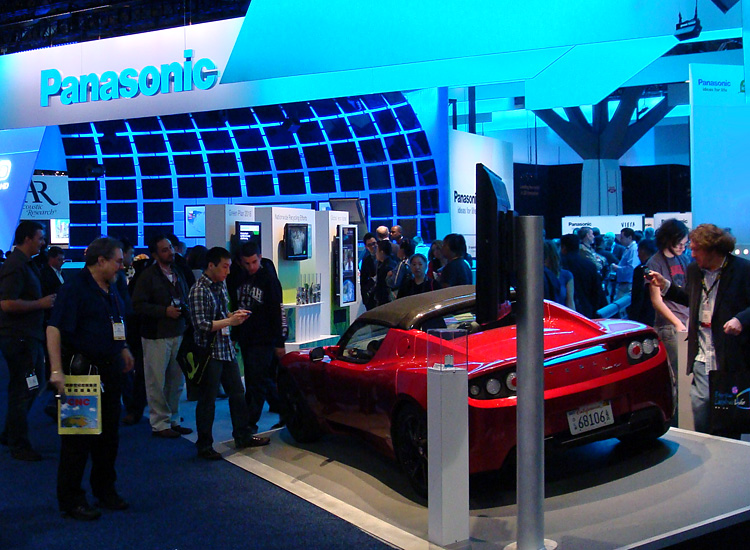 Panasonic was well-represented at CES 2011