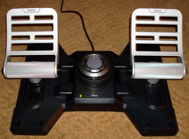 Pro Flight Combat rudder pedals without the plate