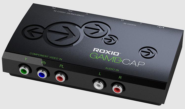 The Roxio GameCap