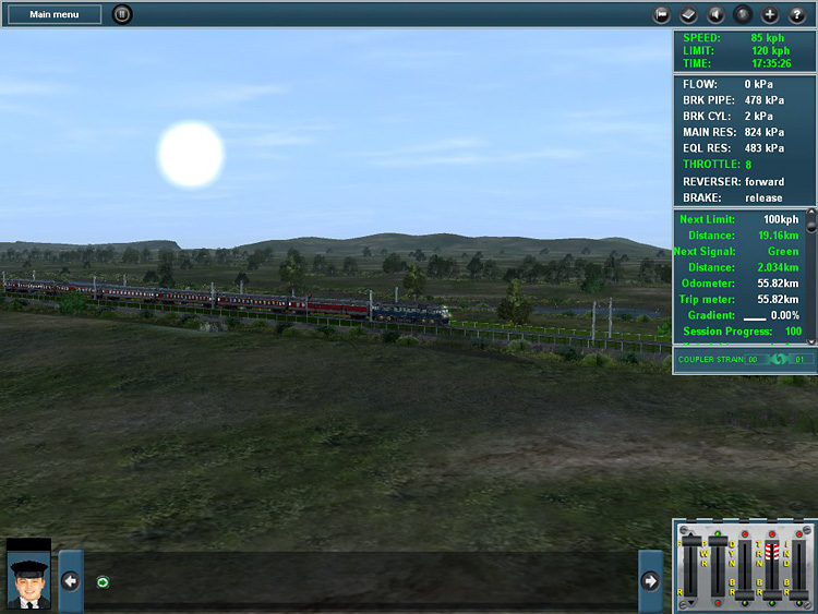 Trainz Simulator 12 - Along the expansive and beautiful Southern China route.