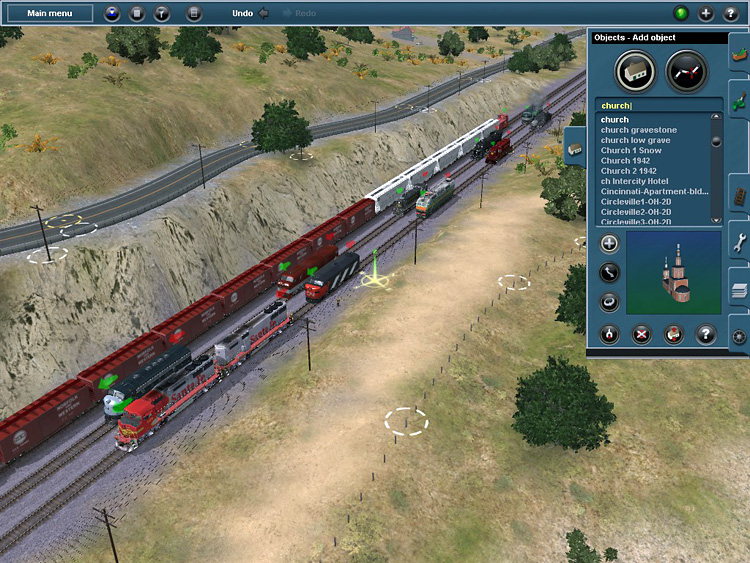 Trainz Simulator 12 - Having some fun with the Surveyor module.