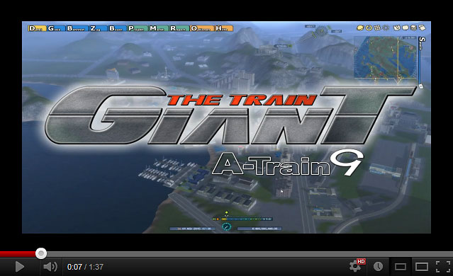 This promotional video shows the beautiful graphics of The Train Giant.