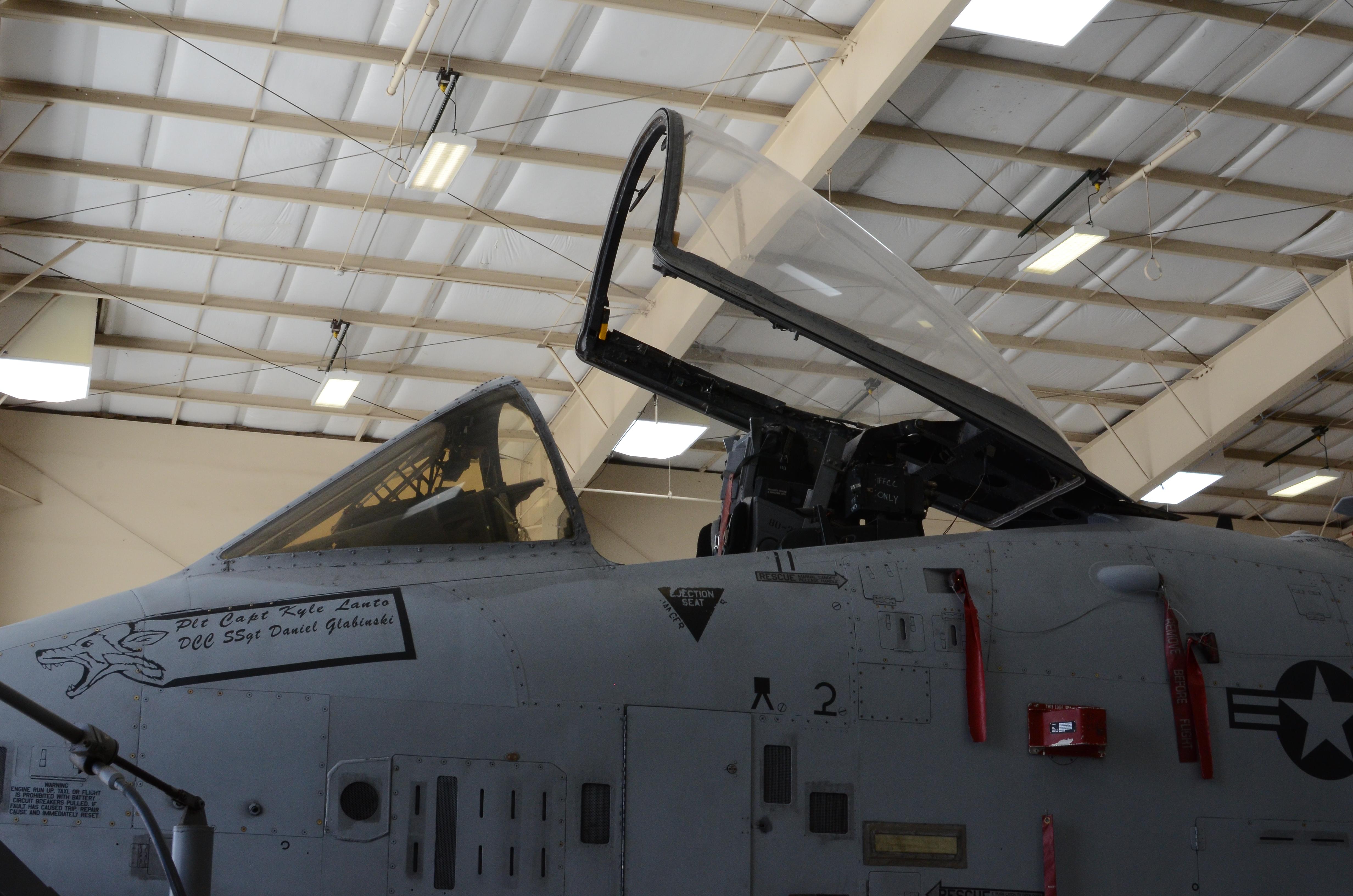 Capt. Kyle Lanto's A-10C