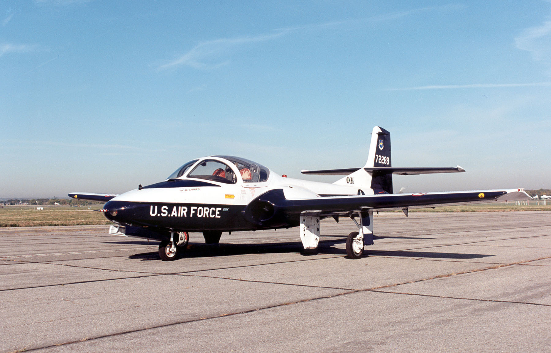 "Cessna T-37B ""Tweet"" (Courtesy of National Museum of USAF)"