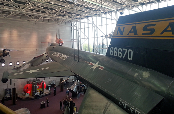 The X15 at the Smithsonian Air & Space Museum