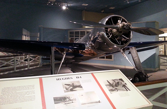 Hughes H-1 at the Smithsonian Air & Space Museum