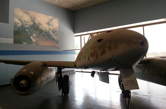 Me-262 at the Smithsonian Air & Space Museum