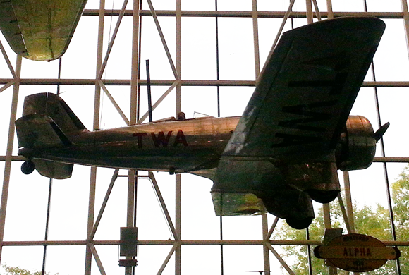 Northrup Alpha at the Smithsonian Air & Space Museum