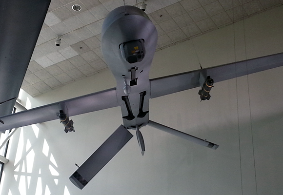 Predator drone at the Smithsonian Air & Space Museum