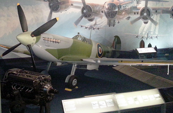 Spitfire at the Smithsonian Air & Space Museum