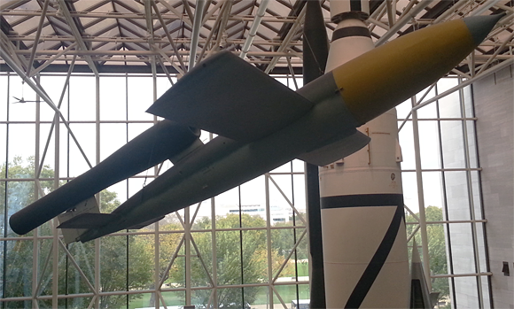 A German WWII V-1 at the Smithsonian Air & Space Museum