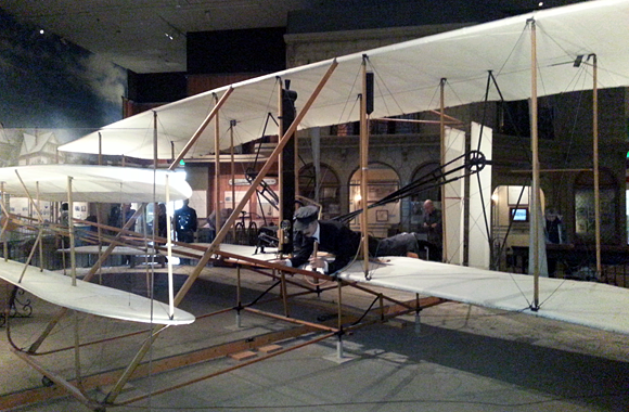 Wright Flyer at the Smithsonian Air & Space Museum