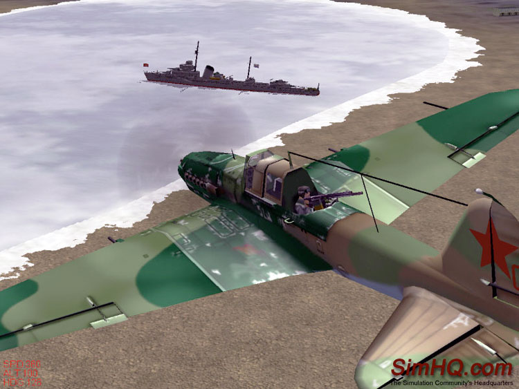 A 2001 naval mission from IL-2 Sturmovik.
