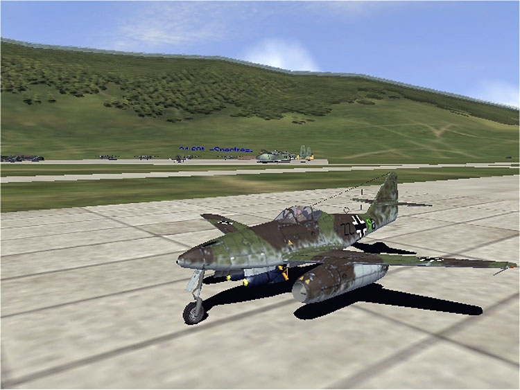 Complex engine management was introduced, enabling simulation of the cantankerous engines of the Me262.