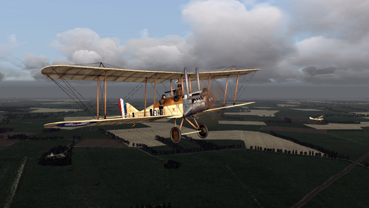 A B.E.2 starting afternoon patrol.