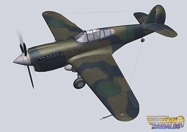 "Current ""state of the art"" - a reworked P40 from Team Daidalos"