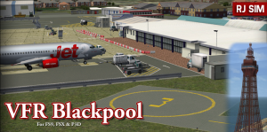 Blackpool International Airport - Available for FS9 - FSX - P3D