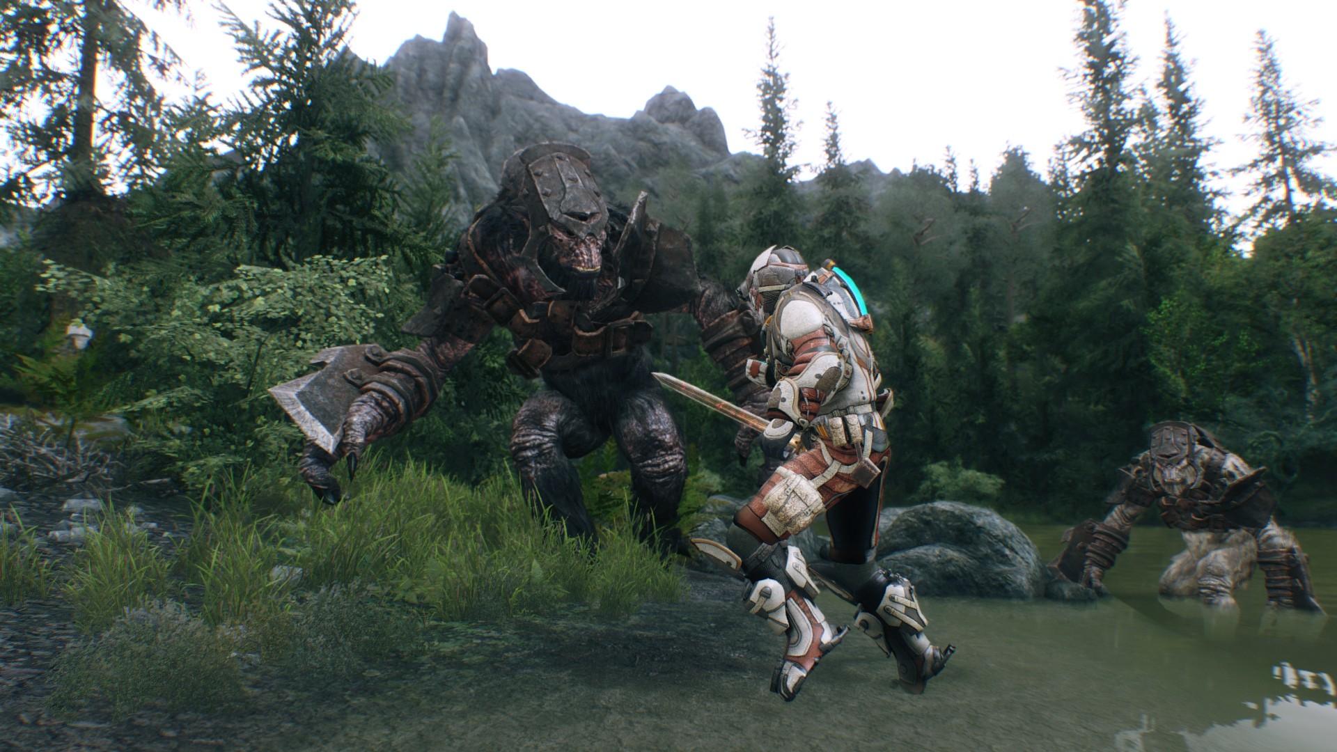 MOD : Skyrim - Frost Elf Race - YouTube