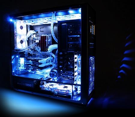 nzxt, kraken, corsair, h105, liquid cooling, gaming pc