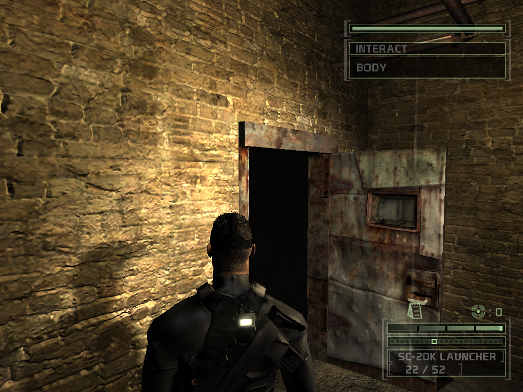 Shader Profile Performance Differences In Splinter Cell Chaos