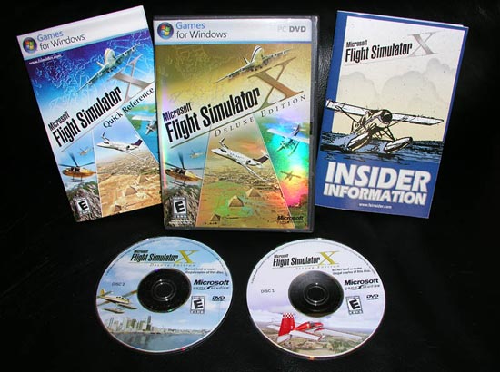 Flight simulator x deluxe recommended system requirements.